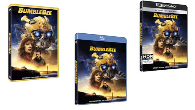 Bumblebee - Home Video - DVD - Blu-ray