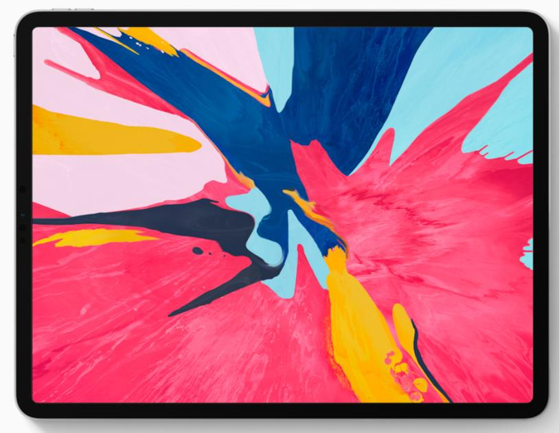 Immagine stampa di iPad Pro