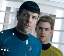 Spock e Kirk si preparano a un nuovo viaggio