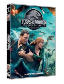 Il formato DVD di Jurassic World: Il regno distrutto