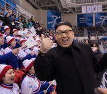Il sosia di Kim Jong alle Olimpiadi invernali di Pyeongchang in uno scatto di Yemin Lee/Getty Images