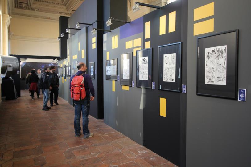 Le tavole di Neil Adams a Lucca 2018
