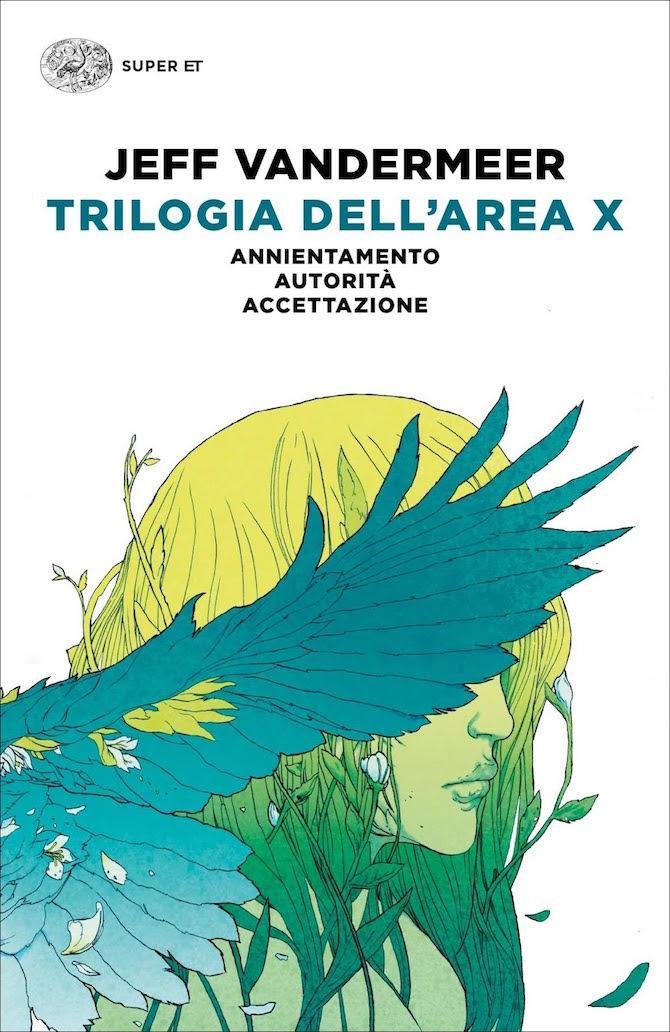 La copertina di Trilogia dell'Area X