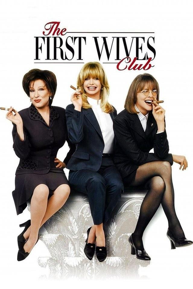 Bette Midler, Goldie Hawn e Diane Keaton nel poster sedute con i sigari in mano