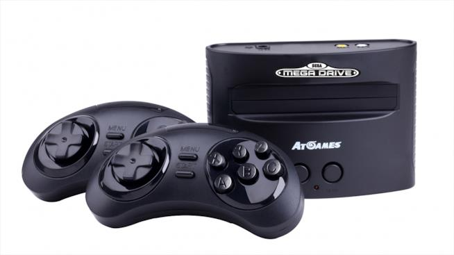 Il Mega Drive Mini di AtGames e i suoi controller