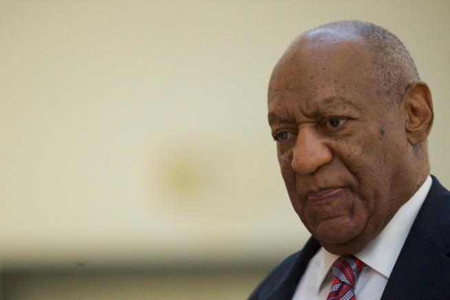 L'attore Bill Cosby in tribunale