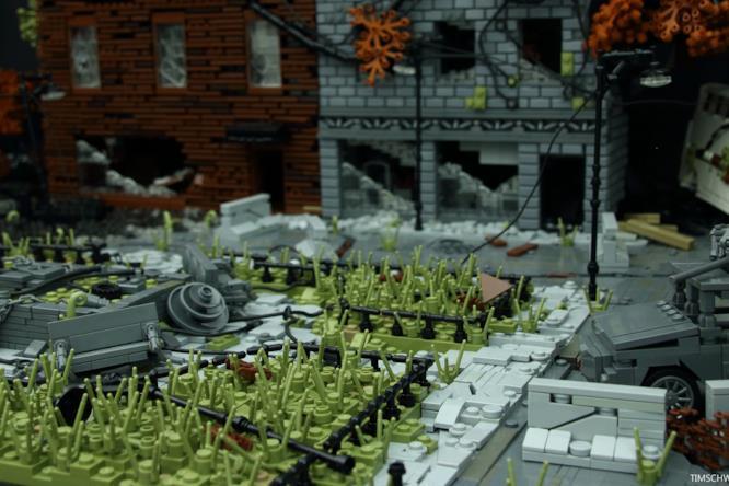 L'incontro tra The Last of Us e i LEGO