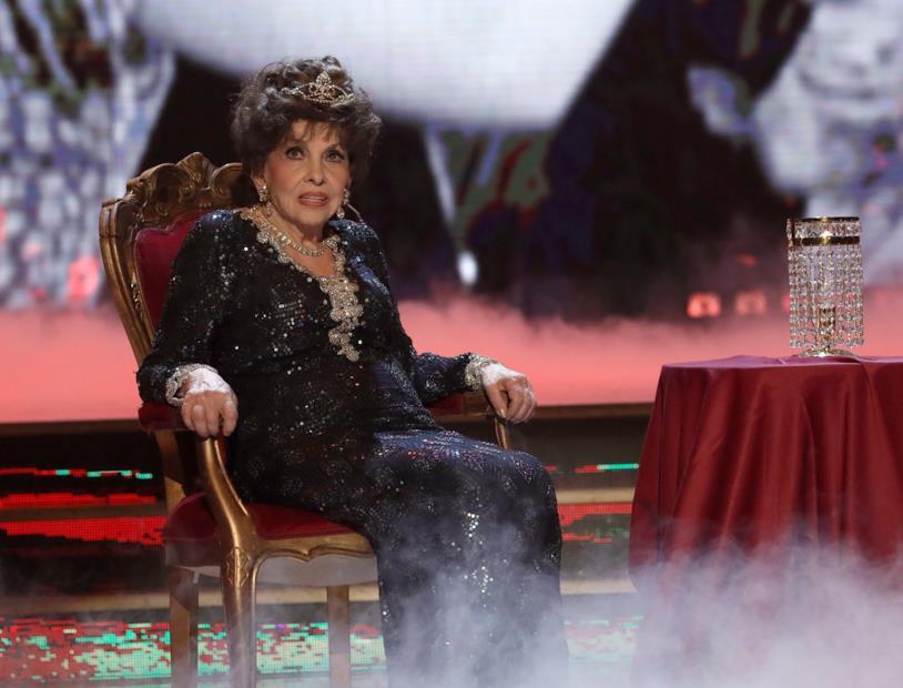 Gina Lollobrigida ospite di Ballando con le stelle