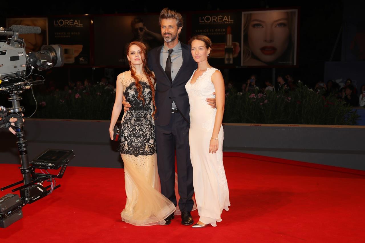Kim Rossi Stuart, Cristiana Capotondi e Camilla Diana alla prima di Tommaso a Venezia 2016