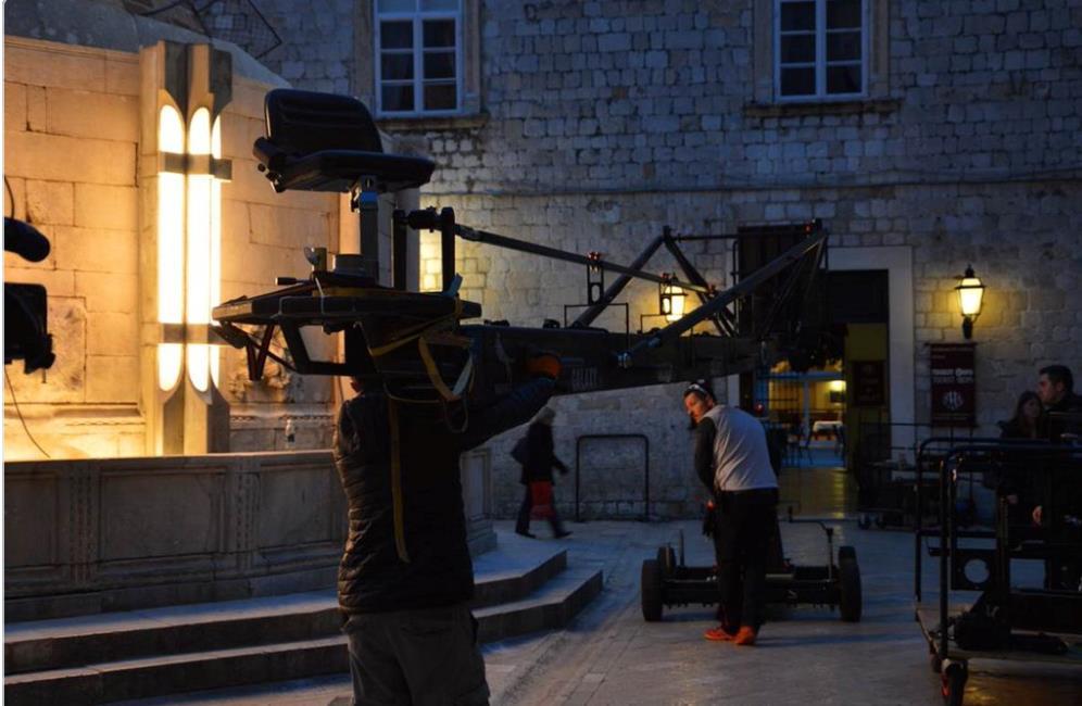 Star Wars 8, la troupe al lavoro a Dubrovnik