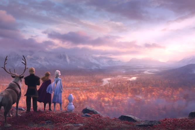 I protagonisti di Frozen nel sequel del film animato
