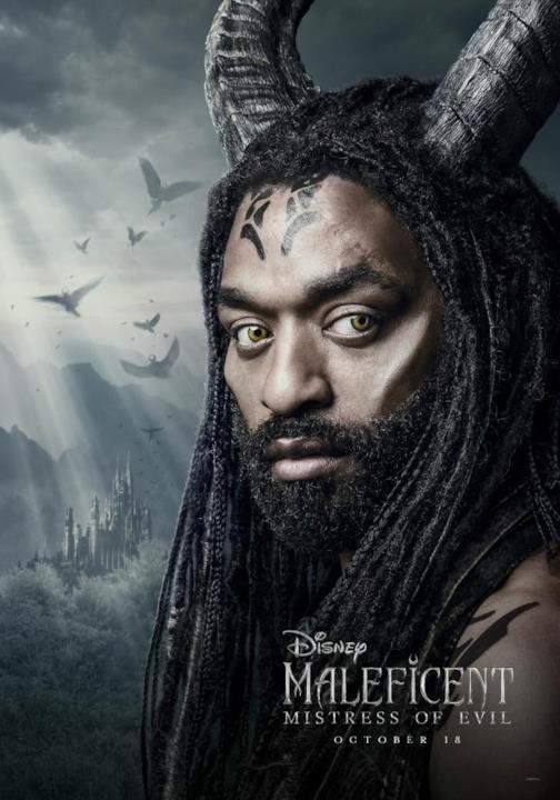 I character poster di Maleficent - Signora del male
