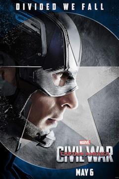 Capitan America in un poster a lui dedicato