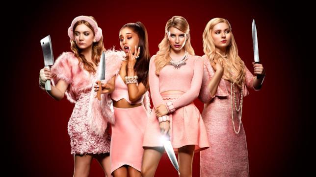 Le protagoniste di Scream Queens