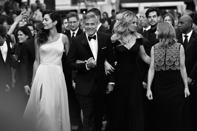 George Clooney presenta il suo ultimo film a Cannes
