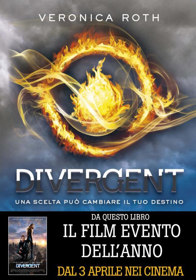 Divergent, libro di Veronica Roth