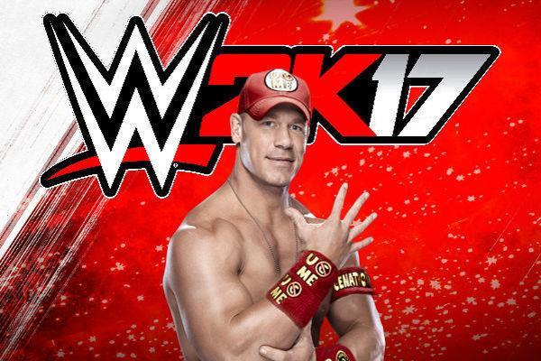 Logo WWE 2K17 con John Cena