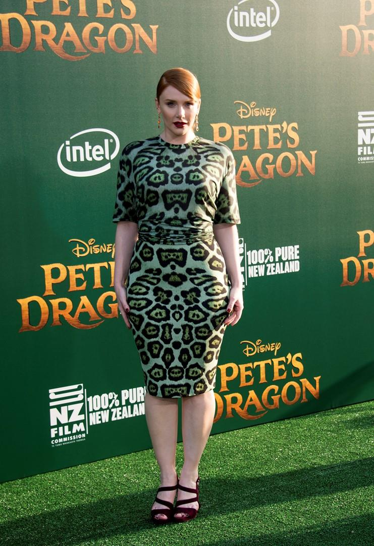 Bryce Dallas Howard alla prima de Il Drago Invisibile