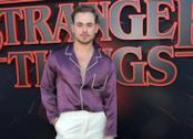 Dacre Montgomery alla prima di Stranger Things 3