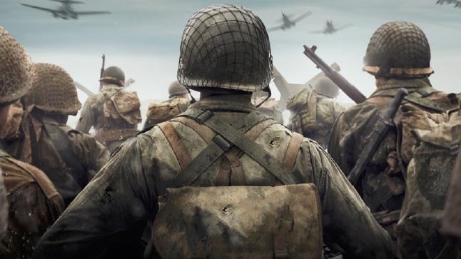 Un'immagine promozionale dal sito di Call of Duty: WWII