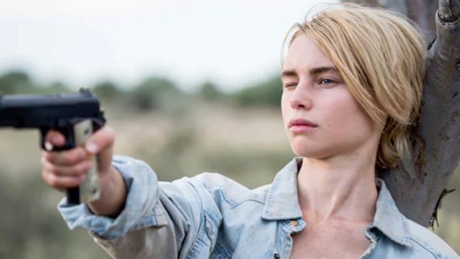 Lucy Fry nella serie Wolf Creek