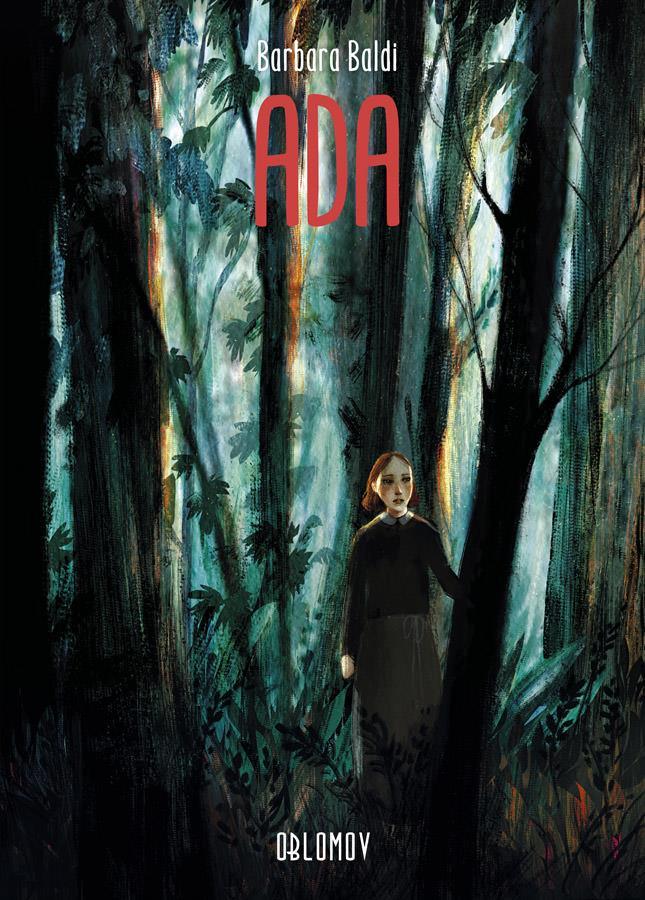 La copertina del fumetto Ada