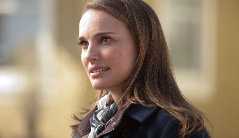 Un primo piano di Natalie Portman nei panni di Jane Foster