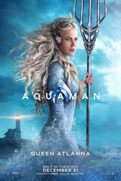 Poster dedicato al personaggio di Regina Atlanna