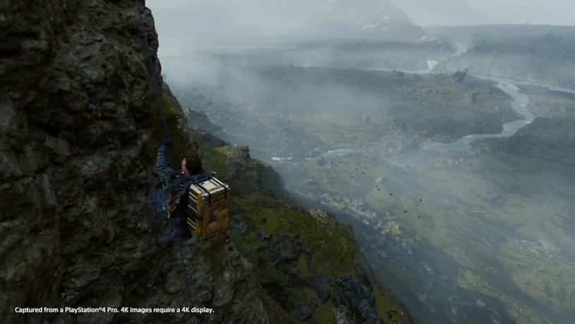 Un'immagine di gameplay da Death Stranding