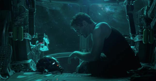 Robert Downey Jr. nel ruolo di Iron Man nel trailer di Avengers: Endgame