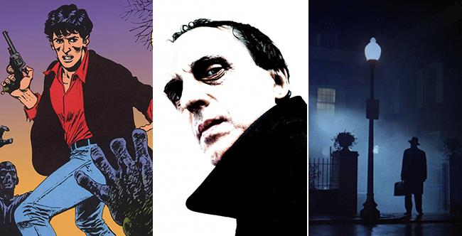 Tre icone dell'horror: Dylan Dog, Dario Argento e L'Esorcista