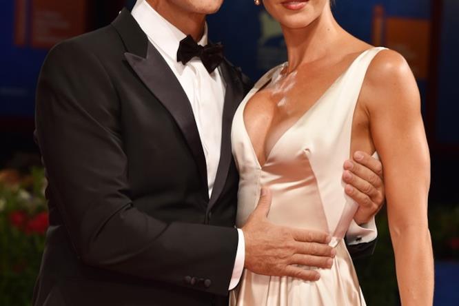 Rocco Siffredi e la moglie Rozsa Tassi a Venezia 73