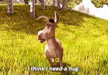 Ciuchino ha bisogno di un abbraccio