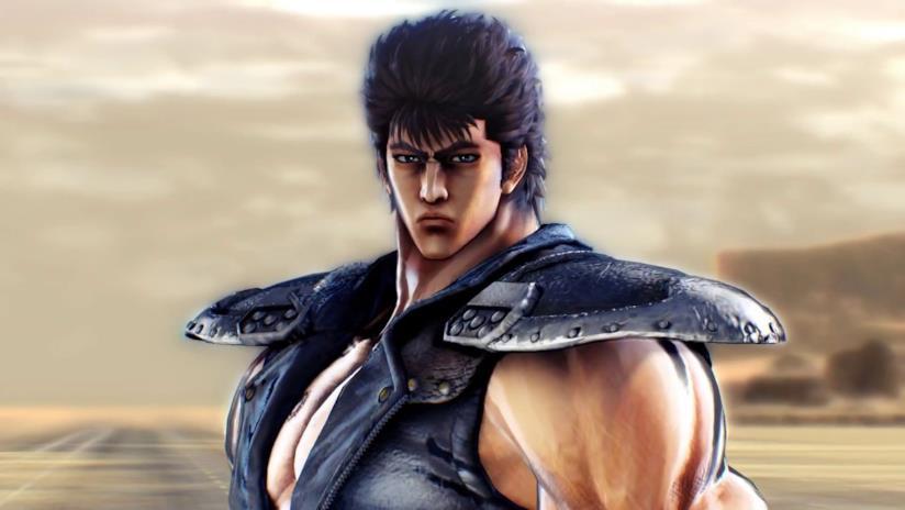 Un primo piano di Ken il Guerriero da Hokuto ga Gotoku