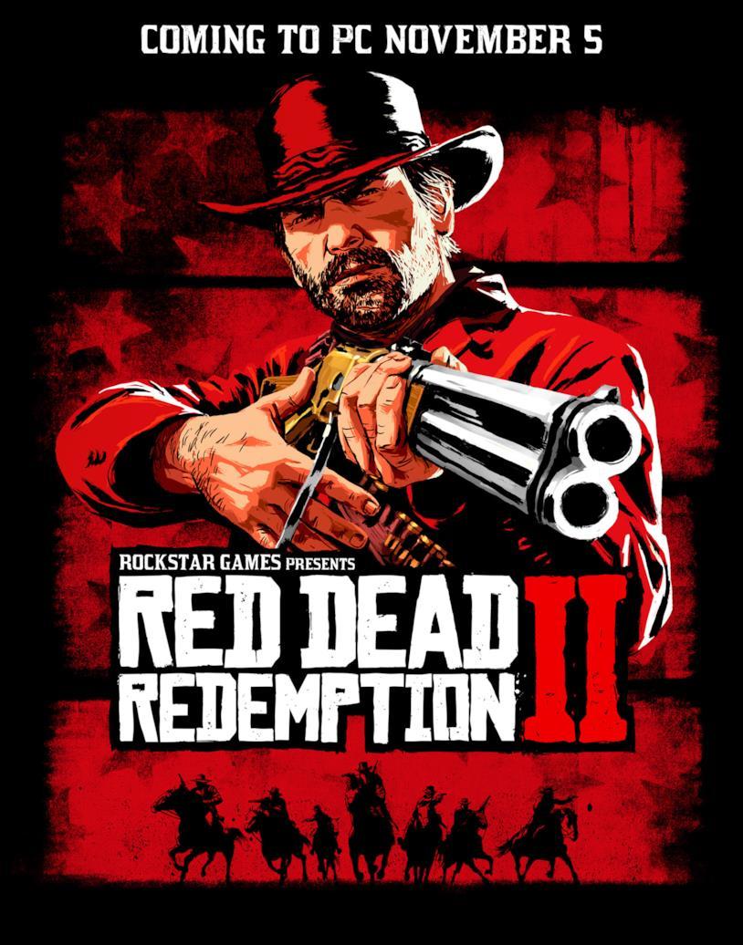 Red Dead Redemption 2 su PC in un concept art
