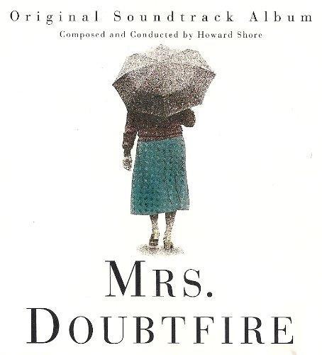 La copertina della colonna sonora di Mrs. Doubtfire