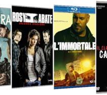 Le cover delle versioni Home Video delle uscite crime italiane di marzo 2020