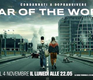 Il poster di FOX di War of the Worlds