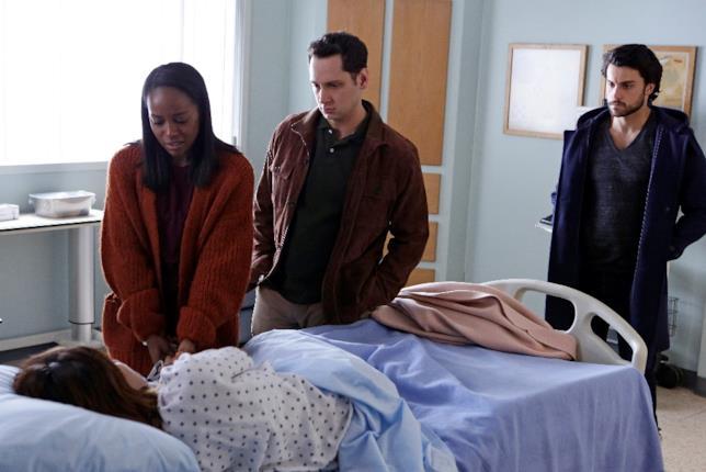 Laurel, Michaela, Asher e Connor