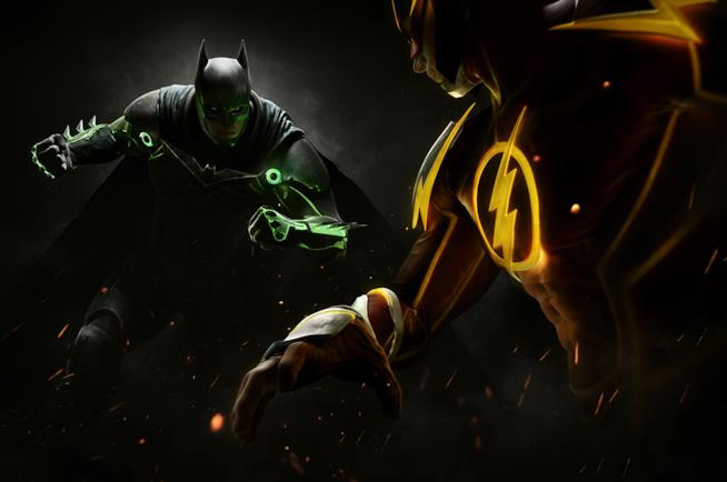 Batman contro Flash in Injustice 2