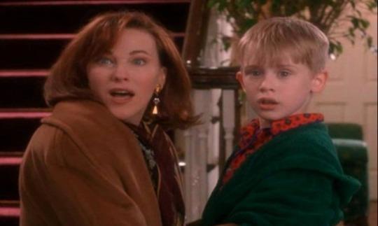 Kevin e la mamma in una scena di Mamma, ho perso l'aereo