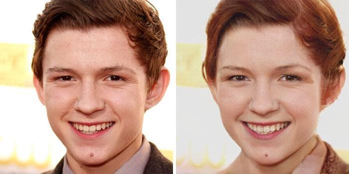 Da uomo a donna: la trasformazione di Tom Holland