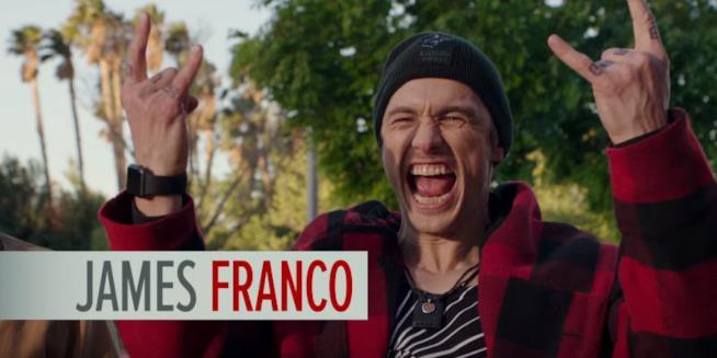 Kames Franco protagonista di Perché proprio lui?