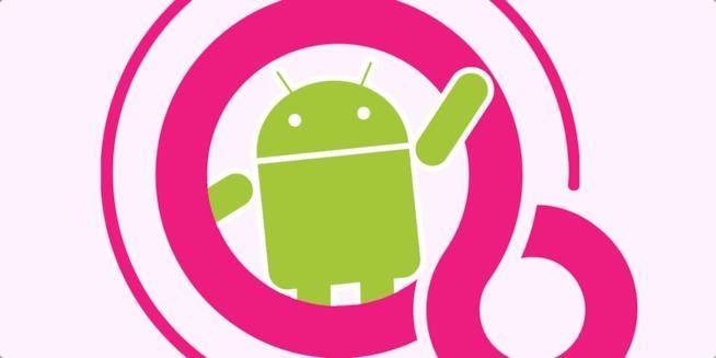 I loghi di Android e Fuchsia OS di Google