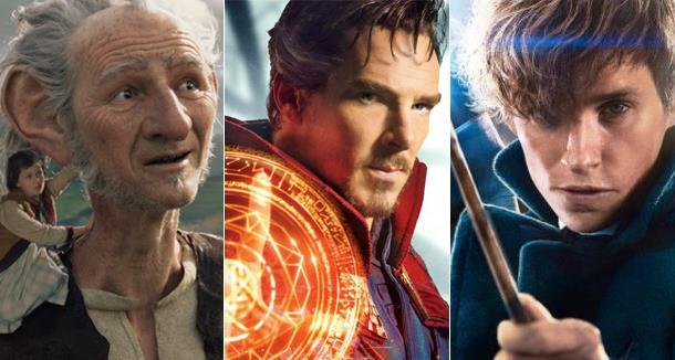 Il GGG, Doctor Strange e Animali Fantastici