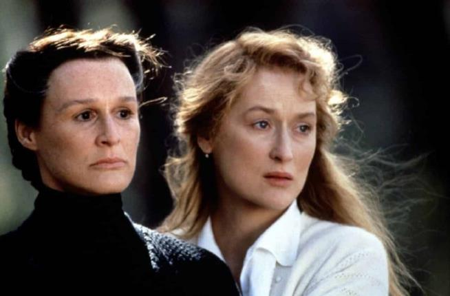 Glenn Close e Meryl Streep