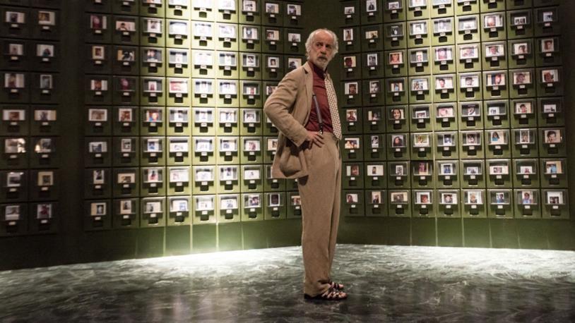 Toni Servillo in L'uomo del labirinto