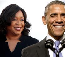 Obama e Shonda Rhimes