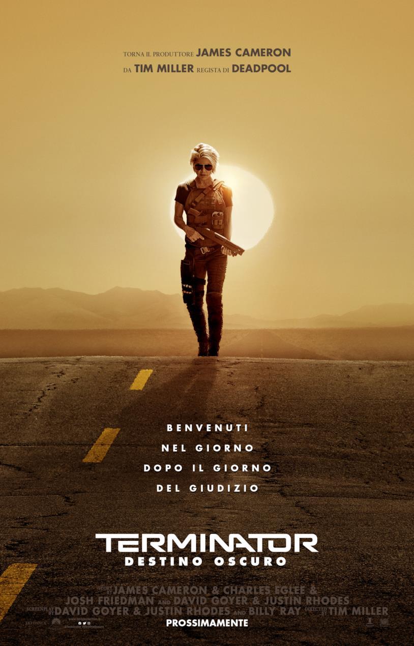 Il poster di Terminator: Destino Oscuro