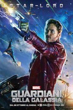 Il character poster di Peter Quill